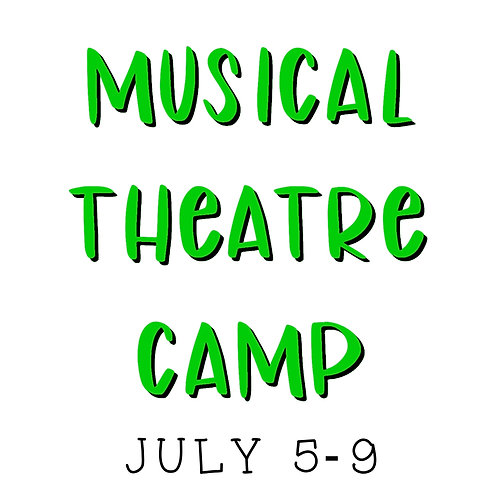 Musical Theatre Camp - Full Payment