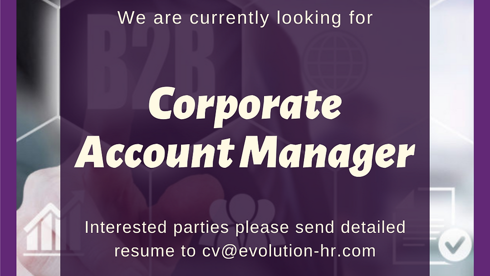 Corporate Account Manager