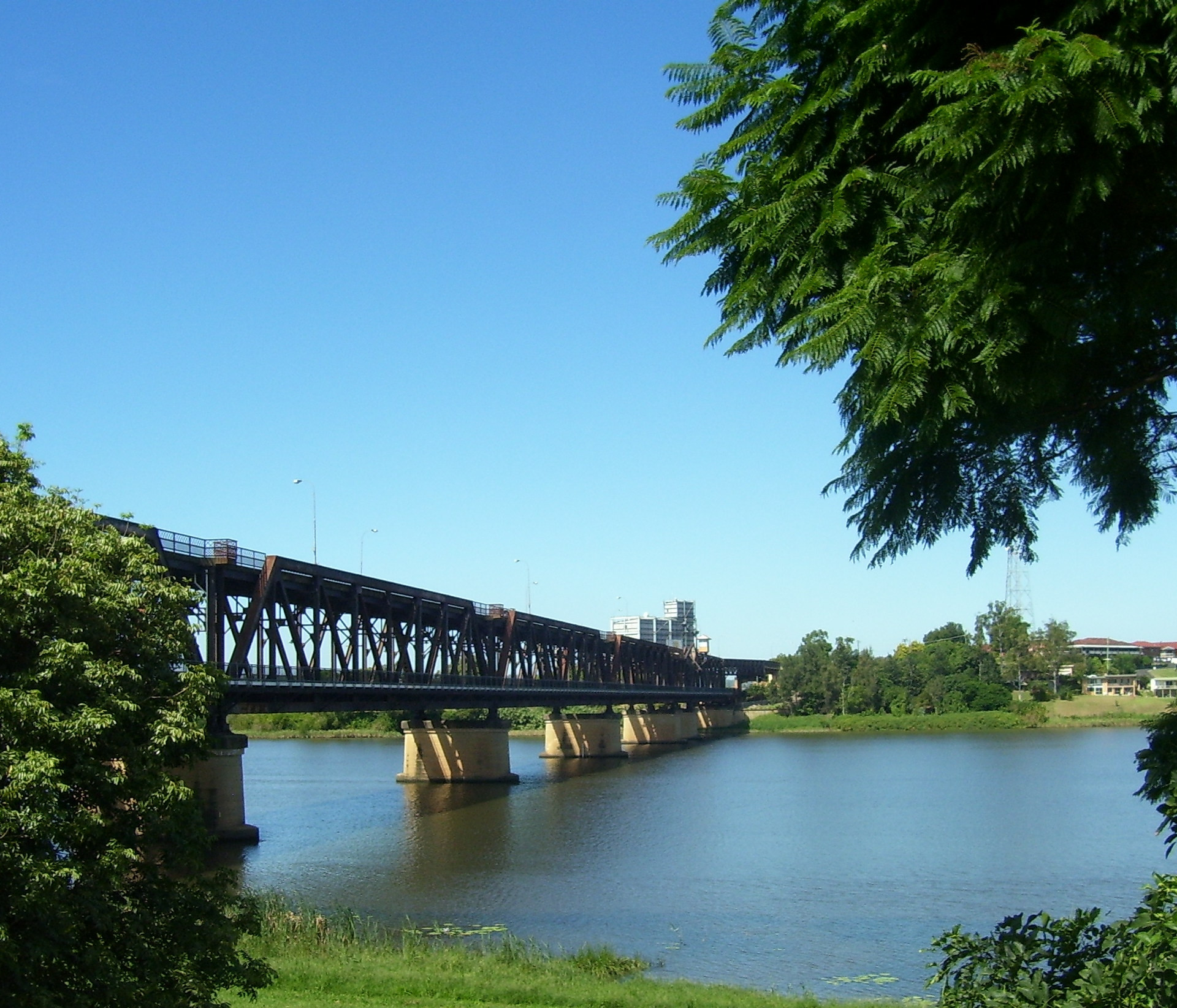 Grafton bridge over the Clarence river