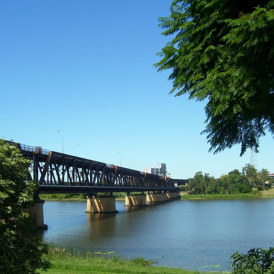 Grafton bridge over the Clarence river