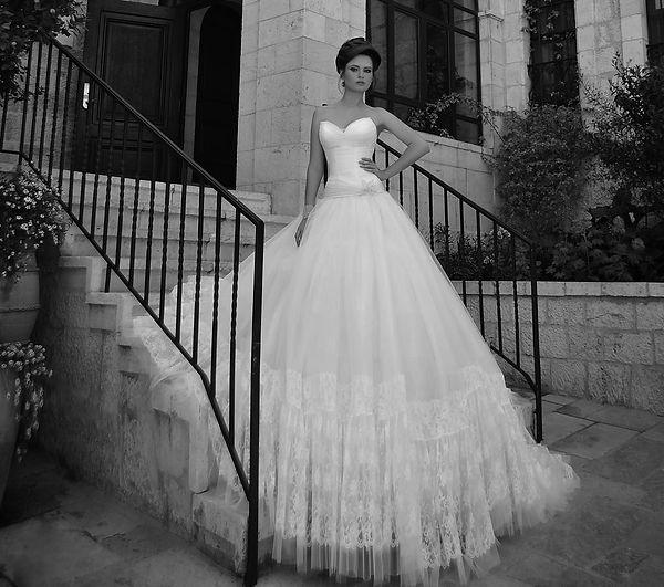 שמלות כלה נפוחות בירושלים