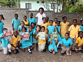 Alpha Junior Primary School students win prizes
