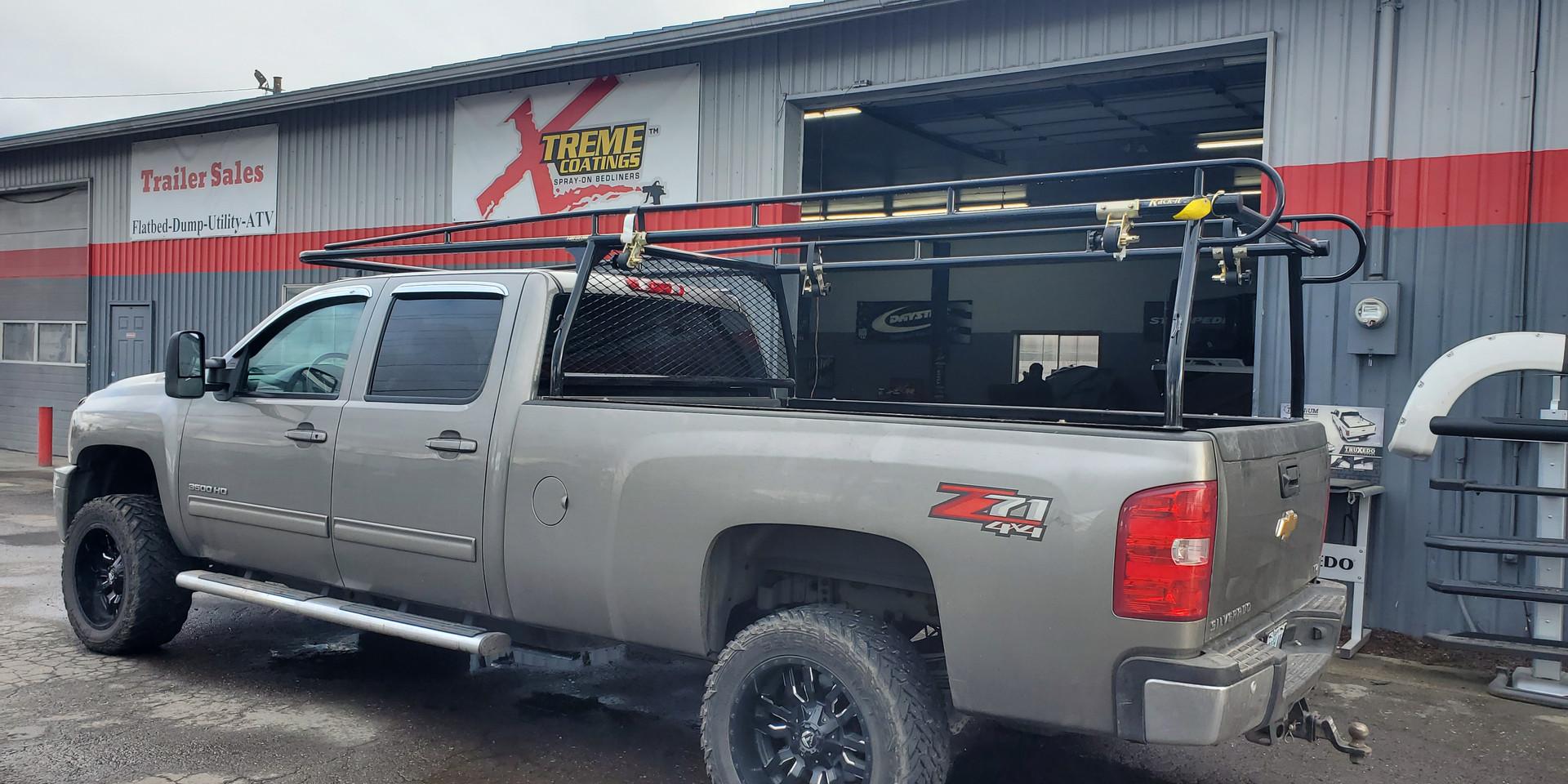 Rack Fully Welded Truck Lumber Rack