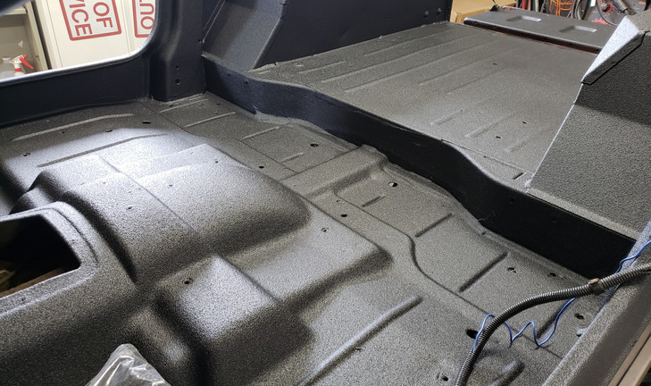 Jeep Tub Spray on Bed liner