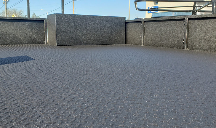Xtreme Coating Spray on bed liner