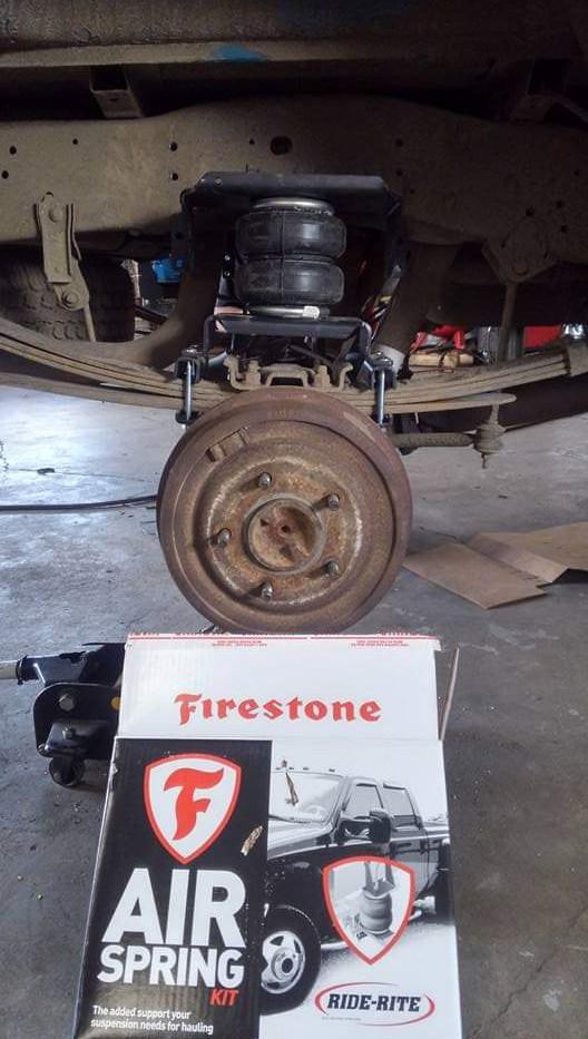 Firestone Air Springs/ bags