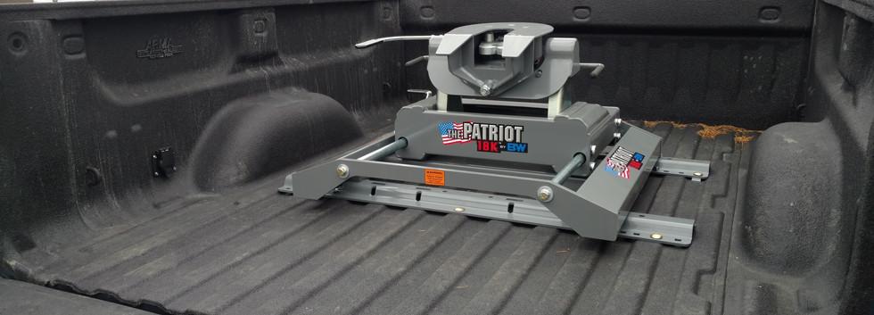 B&W Patriot Slider Hitch