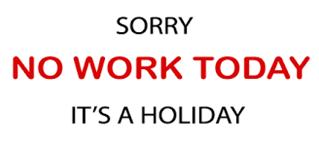 Public Holidays 2018/2019