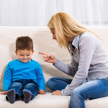 Existe uma relação de desrespeito entre pais e filhos