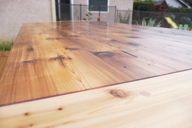 Reclaimed Western Red Cedard Table Top