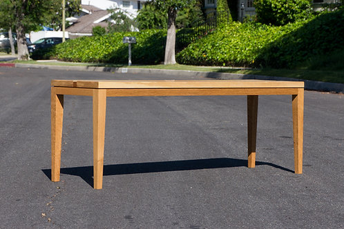 Modern Oak Bench