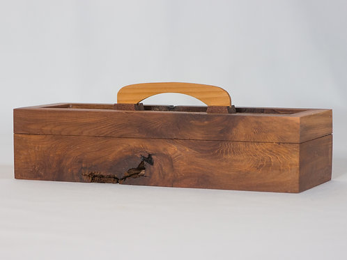 Reclaimed Cedar and Walnut - Small Pen/Pencil Box