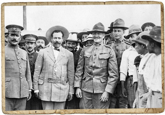 Pancho Villa with John Pershing