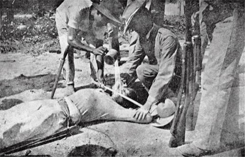 During the Philippine American War it was known as The Water Cure