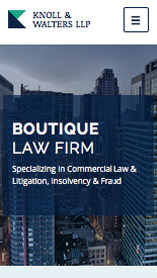 Business website templates – Boutique Law Firm