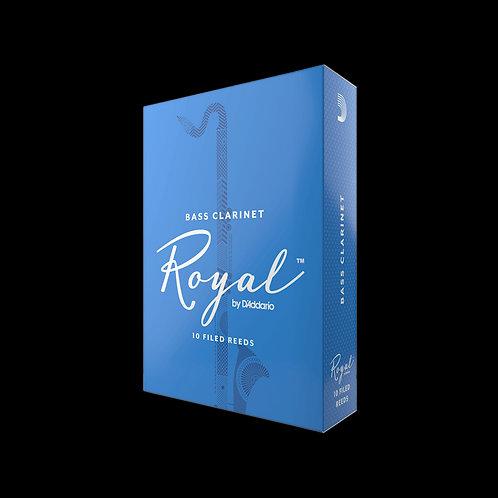 Rico Royal Bass Clarinet Reeds x10