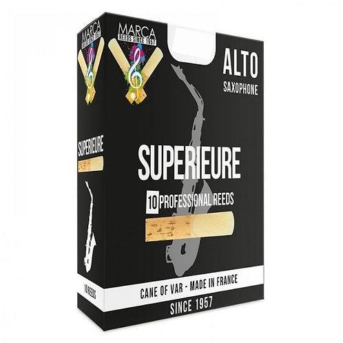 Marca Superieure Alto Saxophone Reeds x 10