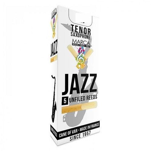 Marca Jazz - Unfiled Tenor Saxophone Reeds x5