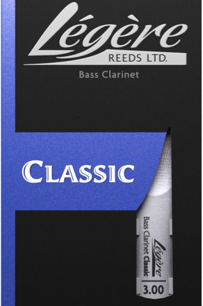 Legere Classic Synthetic Bass Clarinet Reeds