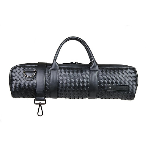 Beaumont B-Foot Flute Bag - Black Weave