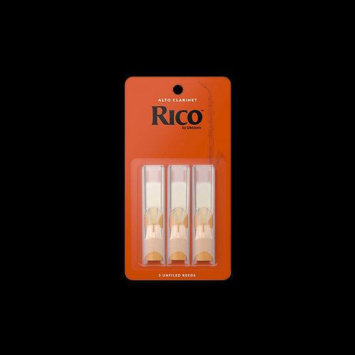 Rico Alto Clarinet Reeds 3-Pack