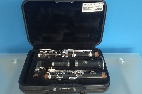 Reconditioned Yamaha YCL-250 Bb Clarinet (J46***)