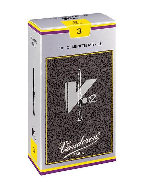 Vandoren V12 Eb Clarinet Reeds
