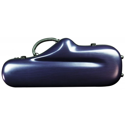 Champion Polycarbonate Alto Saxophone Case - Matte Purple