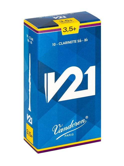 Vandoren V21 Bb Clarinet Reeds x10