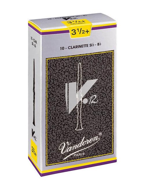 Vandoren V12 Bb Clarinet Reeds x10