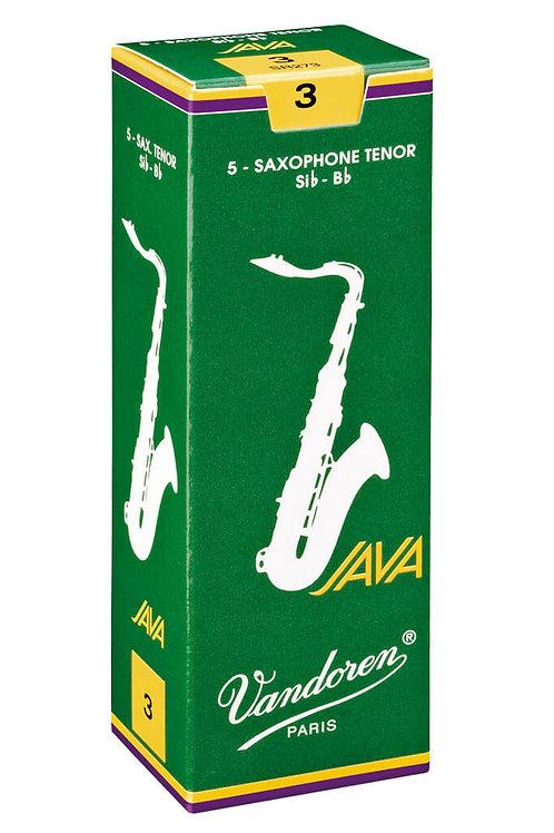 Vandoren JAVA Green Tenor Saxophone Reeds x5