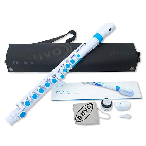 Nuvo jFlute Outfit - White/Blue