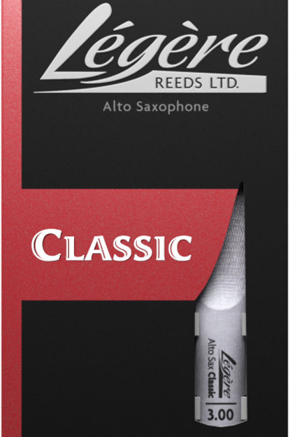 Legere Classic Synthetic Alto Saxophone Reeds