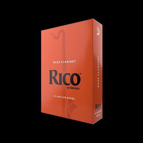 Rico Bass Clarinet Reeds x10