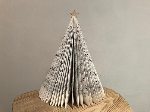 Handmade Christmas Tree from Manuscript