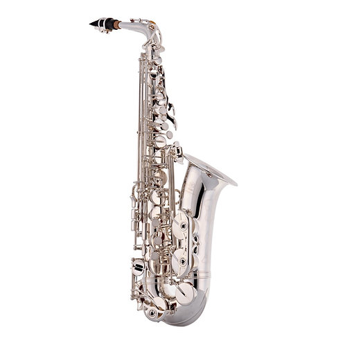 Yamaha YAS62S Professional Alto Saxophone, Silver Outfit