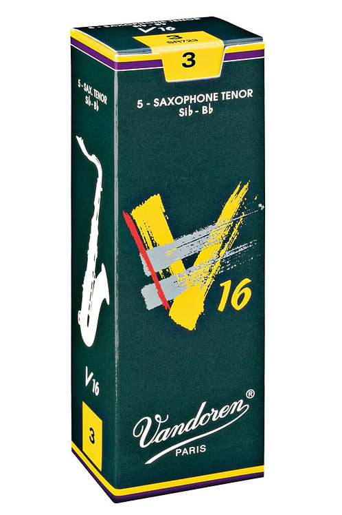 Vandoren V16 Tenor Saxophone Reeds x5