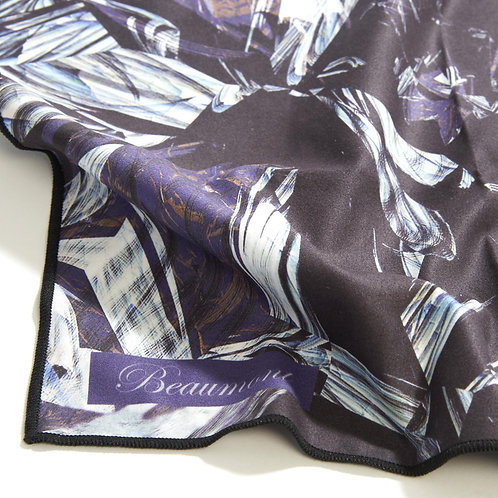Beaumont Recycled Microfibre Cloth - Black Marble (40x30cm)