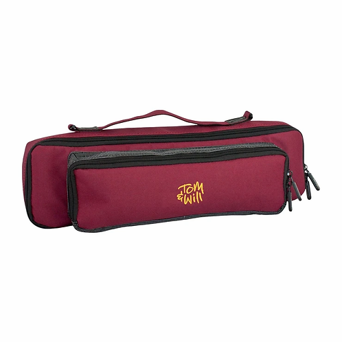 Tom & Will Flute and Piccolo Case Cover - Burgundy