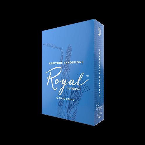 Rico Royal Baritone Saxophone Reeds x10