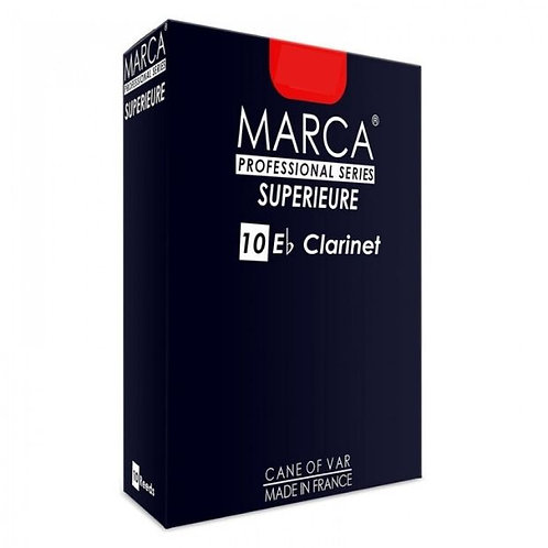 Marca Superieure Eb Clarinet Reeds x10