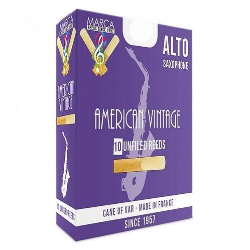 Marca American Vintage Alto Saxophone Reeds x10