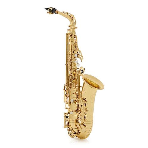 Yamaha YAS-62 Professional Alto Saxophone, Gold Outfit