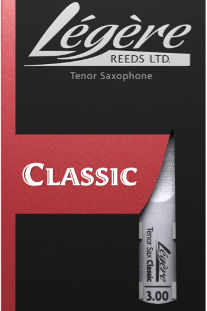 Legere Classic Synthetic Tenor Saxophone Reeds