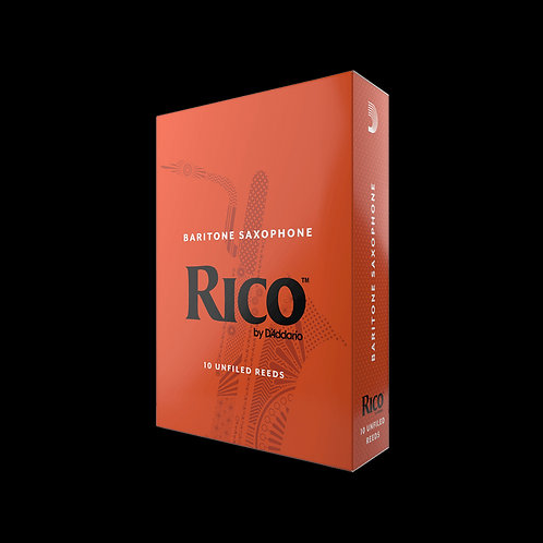 Rico Baritone Saxophone Reeds x10