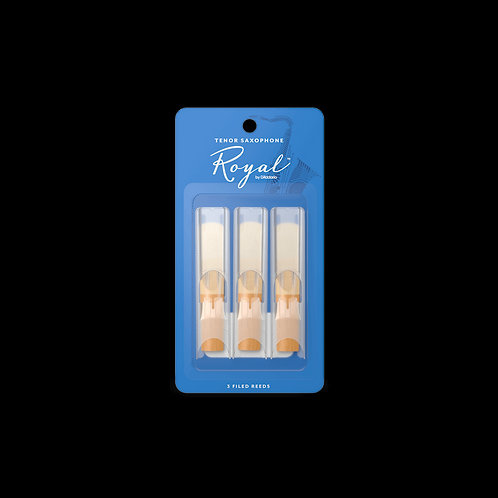 Rico Royal Tenor Saxophone Reeds 3-Pack