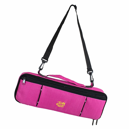 Tom & Will Flute Case Cover - Pink