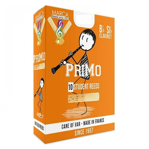 Marca PriMo Bb Clarinet Reeds x10