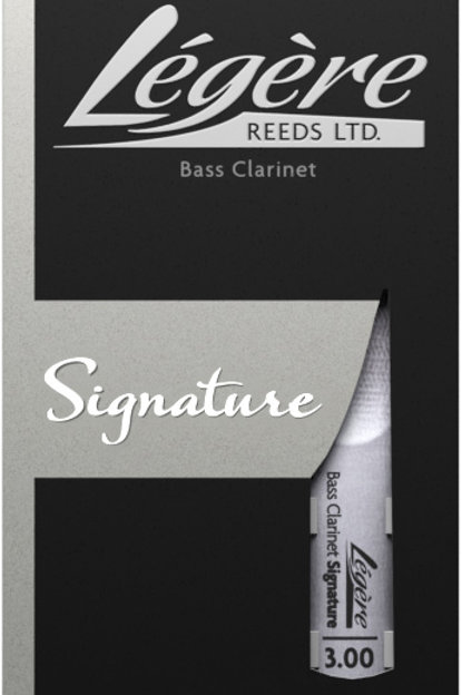 Legere Signature Synthetic Bass Clarinet Reeds