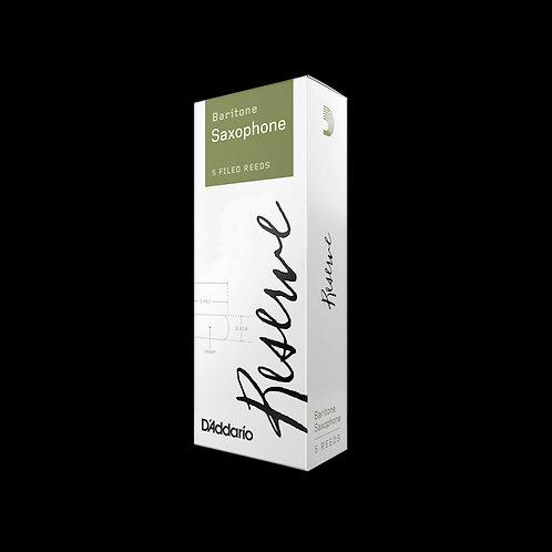 D'Addario Reserve Baritone Saxophone Reeds x5
